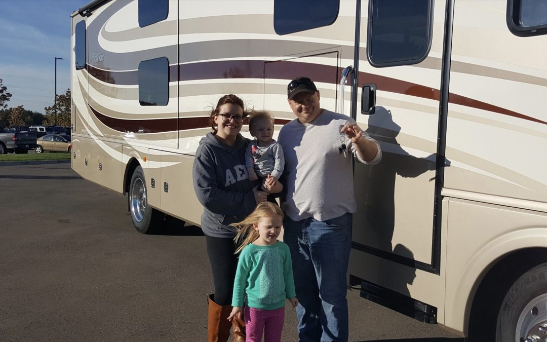 How we became a fulltime RV family