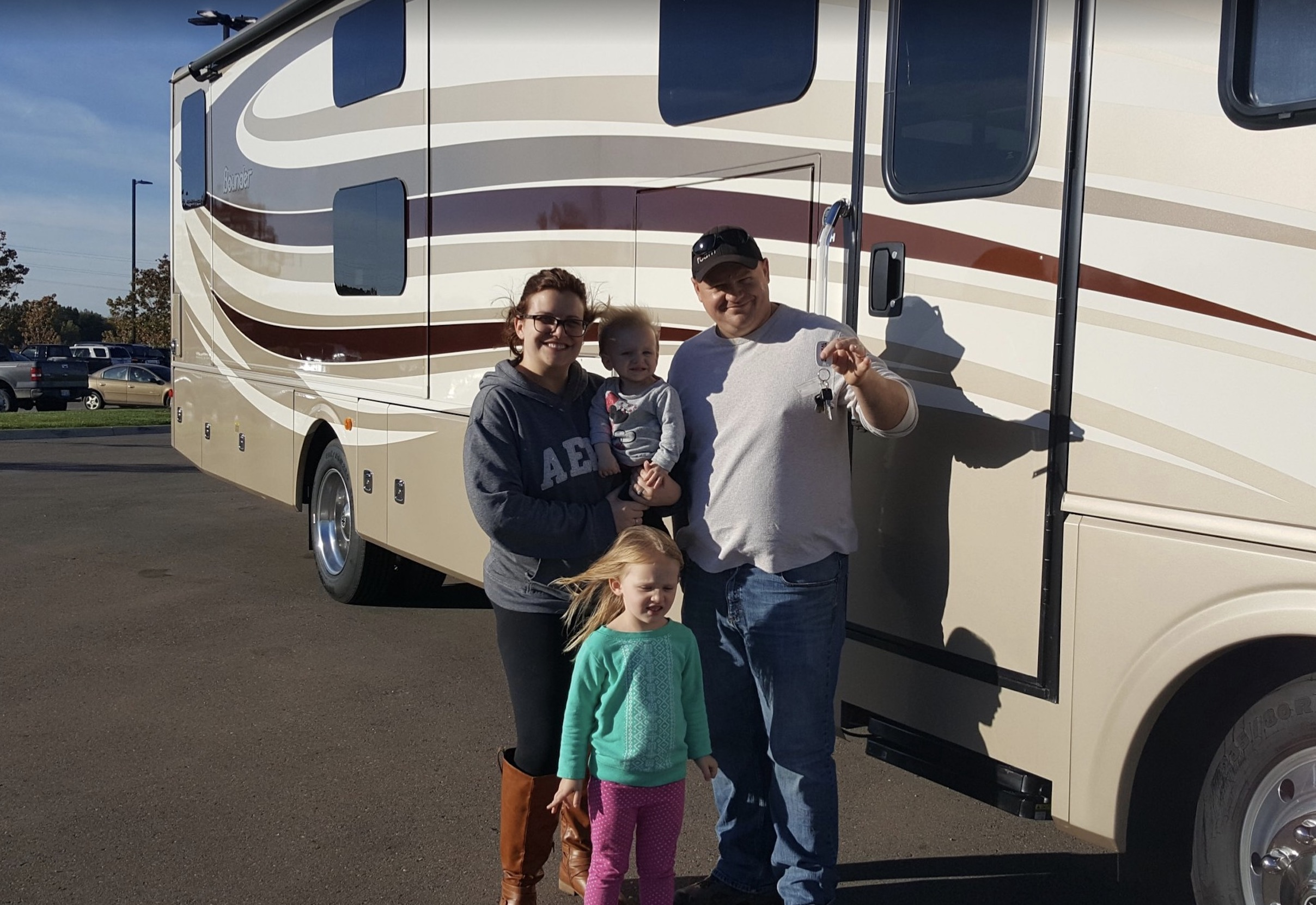 How we became a full-time RV family