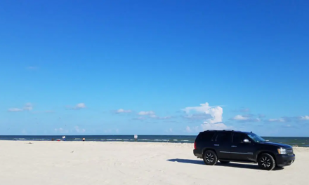 Galveston Beach – A day with the sand beneath our feet