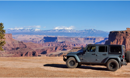Shafer Trail and Potash Road to the epic Canyonlands National Park