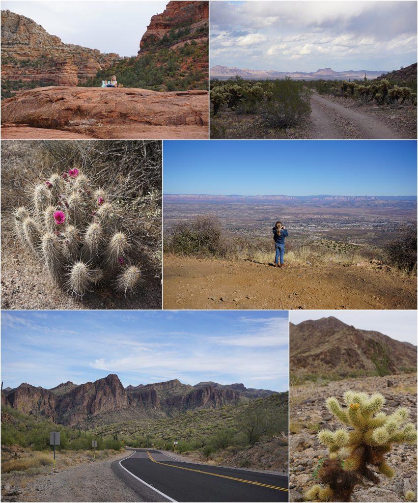 Photos from Jeep trails around Arizona