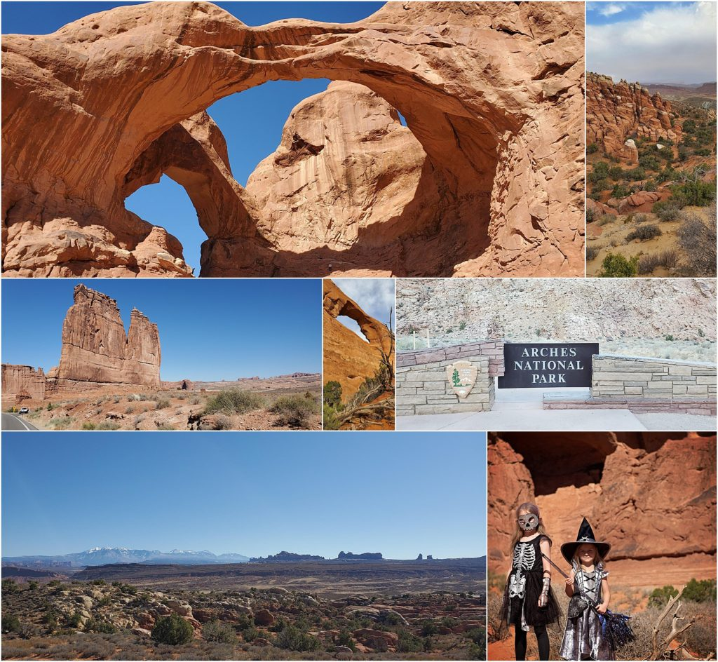 The beautiful Arches national park is a favorite of the Utah Mighty 5.