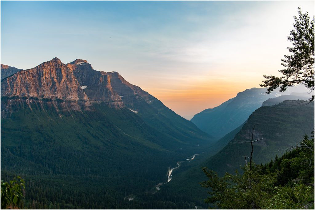 The views are amazing while visiting Glacier National Park