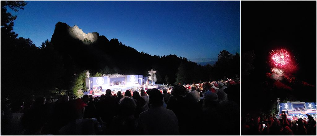 4th of  July Celebration in Mount Rushmore