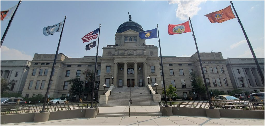 Helena State Capitol Building