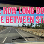 How long do you drive between stays?